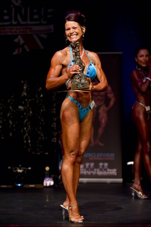 Lynne, my latest figure client, placed 2nd.