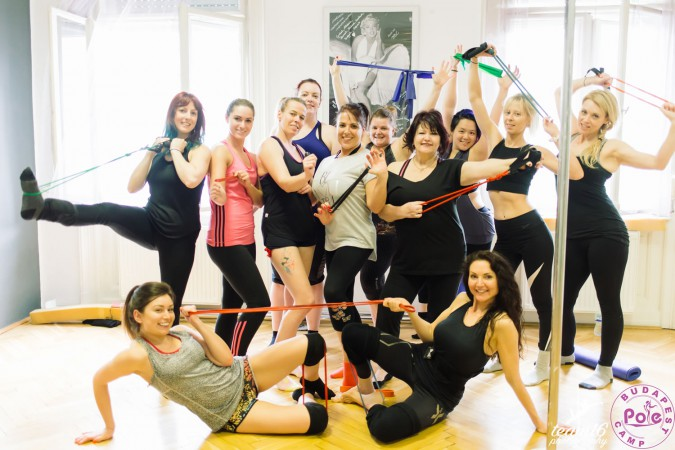 Budapest Pole and Band work