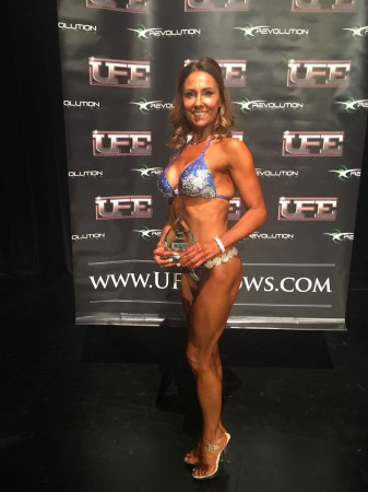 Emma - 3rd place UFE bikini over 35, October 2016