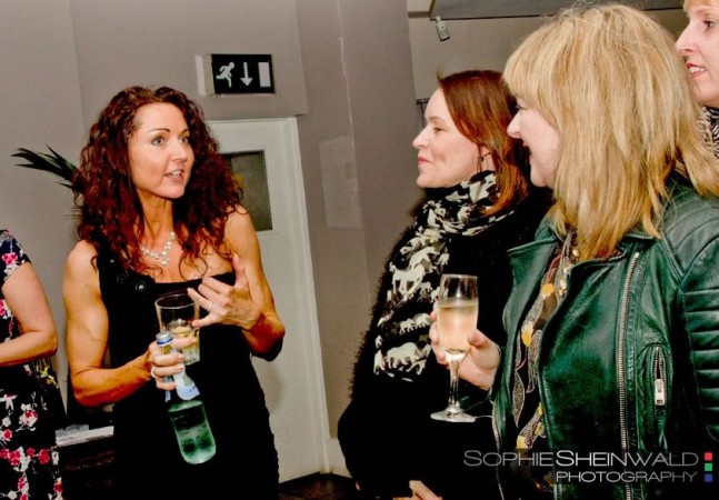 Livia networking at the Sassy Networking event in January