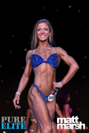 Georgia - 1st Place in Pure Elite Fitness Model  catagory in April 2016