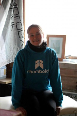 Helen at Rhomboids Sports Massage