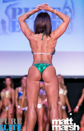 Lisa - 4th place pure elite bikini diva over 35 category, April 2017
