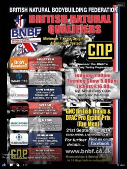 BNBF 2014 competition poster