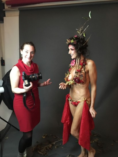 Bikini project with fashion student Immy O'Toole