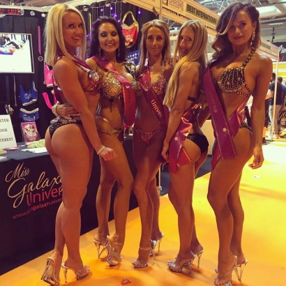 Miss Galaxy Universe Body Power Expo