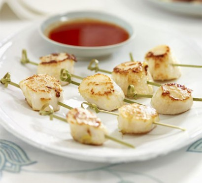 Go for protein-rich canapes