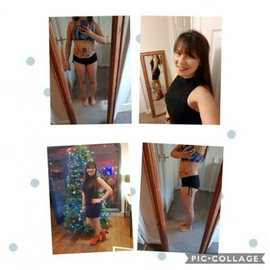 These are my before and after pics of the 30 day body cleanse cleanse