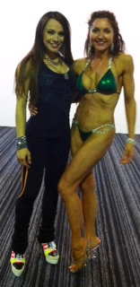 Natalia Melo Bikini workshop on the 12th April at Panthers Gym in Uxbridge