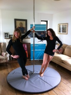 Pole Display for Brighton Mums Fundraising Coffee Morning