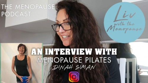 The Menopause Podcast - an interview with Menopause Pilates